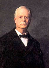 Sereno Payne (R-N.Y.) served as chairman of the House Ways and Means Committee from 1899-1911. Illustration courtesy of the House Ways and Means Committee.