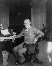 President Woodrow Wilson. Photo courtesy of the Library of Congress.