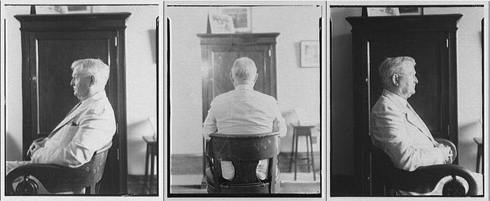 An unusual photo series of John Nance Garner from his time as vice president. Photos by Theodor Horydczak, courtesy of the Library of Congress.
