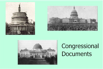Congressional Documents